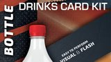 Drink Card KIT for Astonishing Bottle (Gimmick and Online Instructions) by João Miranda and Ramon Amaral  - Trick_