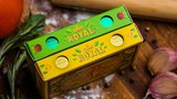 The Royal Pizza Palace (Gilded) Playing Cards Set by Riffle Shuffle_