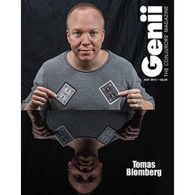 "Genii Magazine ""Thomas Blomberg"" July 2015 - Book"