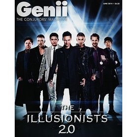 "Genii Magazine ""The Illusionists 2.0""  June 2014 - Book"