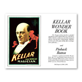 Kellar Wonder Book with Pinback Button - Book