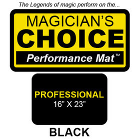 Professional Close-Up Mat (BLACK - 16x23) by Ronjo - Trick