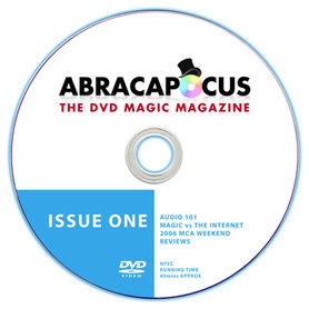 Abracapocus Issue 1 - DVD