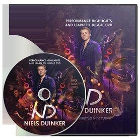 Learn To Juggle by Niels Duinker - DVD