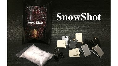 SnowShot (10 ct.) by Victor Voitko (Gimmick and Online Instructions) - Trick