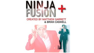 Ninja+ Fusion in Dark Black (With Online Instructions) by Matthew Garrett & Brian Caswell - Trick