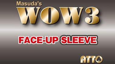WOW 3 Face-Up Sleeve by Katsuya Masuda - Trick