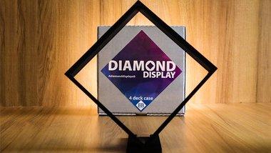 Diamond Display - 4 Playing Card Case by EB