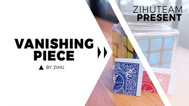 Vanishing Piece (Gimmicks and Online Instructions) by Zihu - Trick