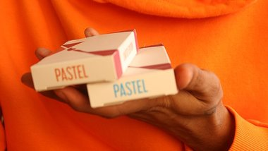 Pastels Orange Limited Edition Playing Cards