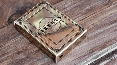 Limited Edition Liberty Playing Cards (Gold) by Jackson Robinson