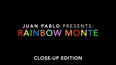 Rainbow Monte (Close up) by Juan Pablo - Trick