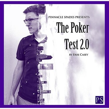 Poker Test 2.0 (Gimmick and Online Instructions) by Erik Casey - Trick