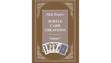 Subtle Card Creations of Nick Trost, Vol. 7 - Book