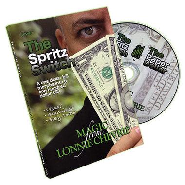 Spritz Switch by Lonnie Chevrie - DVD
