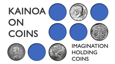 Kainoa On Coins: Imagination Holding Coins - DVD