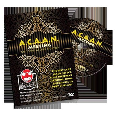 ACAAN the Bar Magico Sessions by Tango Magic - DVD