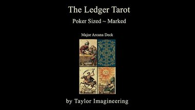 Ledger Major Arcana Deck Poker Sized (1 Deck and Online Instructions) by Taylor Imagineering
