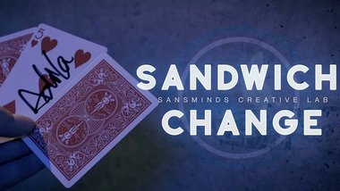 Sandwich Change (Gimmicks and DVD) by SansMinds Creative Labs - DVD