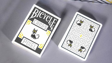 Bicycle Pixel (Cat) Playing Cards by TCC