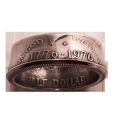 Genuine Half-Dollar Ring (12/21.49 mm)By Diamond Jim Tyler - Trick
