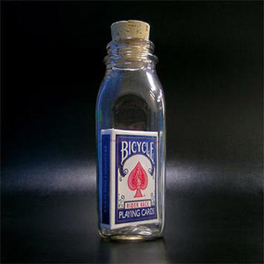 Anything Is Possible Bottle (Blue Back Bicycle) by Jamie D. Grant - Trick
