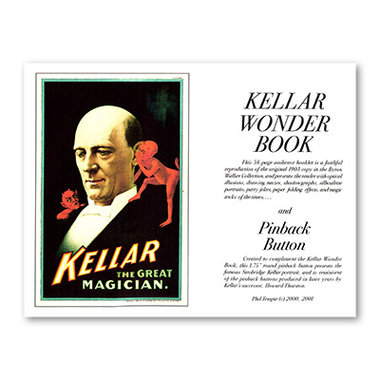 Kellar Wonder Book with Pinback Button - Book
