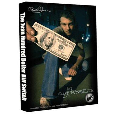 Juan Hundred Dollar Bill Switch (with Hundy 500 Bonus) by Doug McKenzie video DOWNLOAD