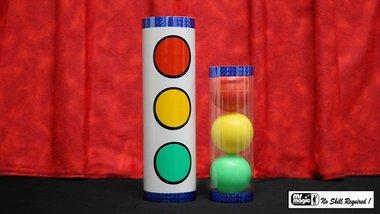 Joker Ball & Tube (small) by Mr. Magic - Trick