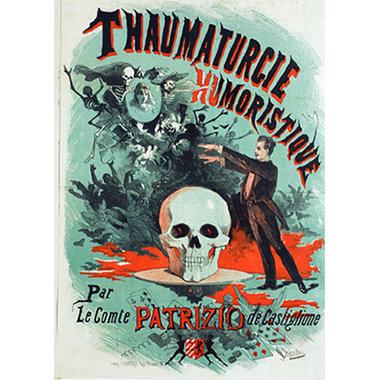 Patrizio Castiglione Poster (18 inch by 24 inch) designed by Jules Cheret - Trick