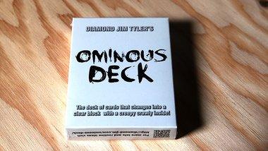Ominous Deck (Spider) by Diamond Jim Tyler - Trick