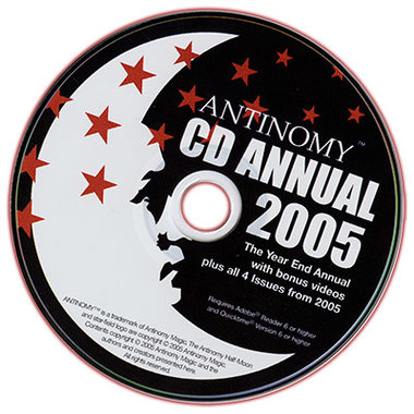 CD Antinomy Annual Year 1 (2005) - DVD