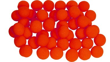 1 inch Super Soft Sponge Ball (Red) Bag of 50 from Magic by Gosh