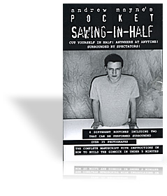 Pocket Sawing-In-Half by Andrew Mayne - Book