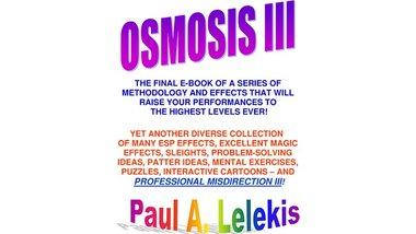 OSMOSIS III - Paul A. Lelekis Mixed Media DOWNLOAD