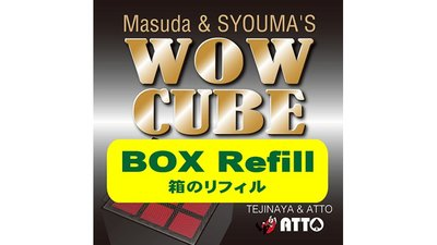 WOW CUBE REFILL BOX by Tejinaya Magic - Trick