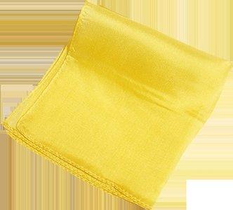 Silk 6 inch (Yellow) Magic By Gosh - Trick