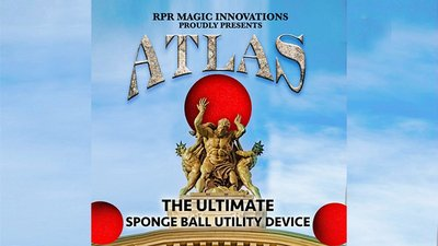 Atlas Kit Red (Gimmick and Online Instructions) by RPR Magic Innovations - Trick
