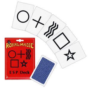 ESP Deck (25 Cards) - Royal Magic