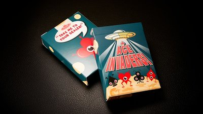 Ace Invaders Playing Cards