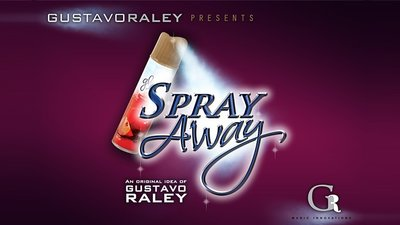 SPRAY AWAY (Gimmicks and Online Instructions) by Gustavo Raley - Trick