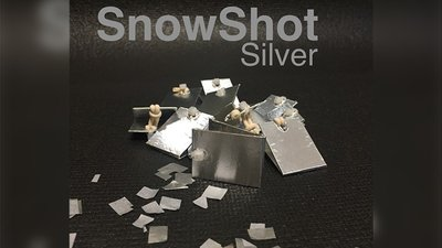 SnowShot SILVER (10 ct.) by Victor Voitko (Gimmick and Online Instructions) - Trick