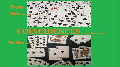 Coincidences by Luis Magic video DOWNLOAD