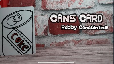 Cans Card by Robby Constantine video DOWNLOAD