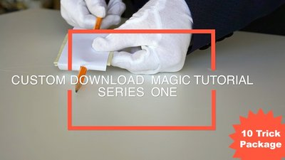 10 Trick Online Magic Tutorials / Series #1 by Paul Romhany video DOWNLOAD