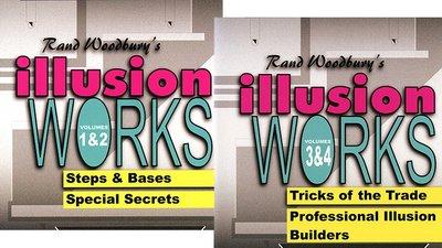 Illusion Works Set (Vol 1 thru 4)  by Rand Woodbury video DOWNLOAD