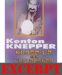 A Marked and Borrowed Quarter video DOWNLOAD (Excerpt of Klose-Up And Unpublished by Kenton Knepper)