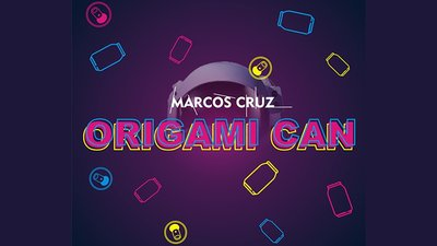 Origami Can by Marcos Cruz - Trick