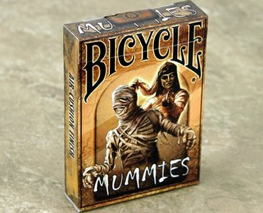 Bicycle Mummies Playing Cards by Collectable Playing Cards