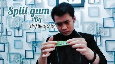 Split Gum by Arif Illusionist video DOWNLOAD